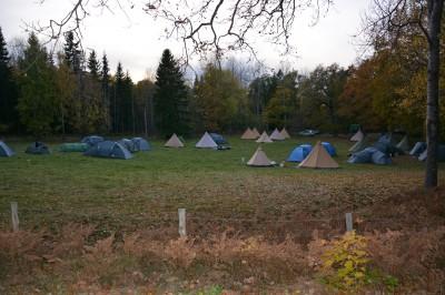 Scouterna bodde i Farmville.